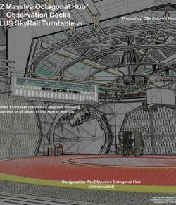 AtoZ Massive Oct Hub SkyRail and Observation Decks I v1