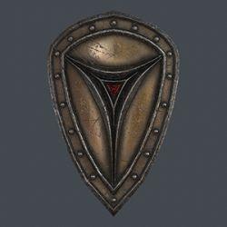 Fantasy shield 6 3d model - Extended License