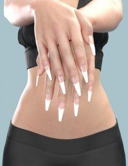 Mst Genesis 8 Females Mega Nails MR