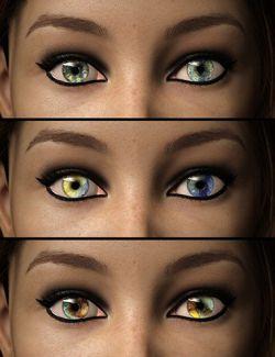 D.E.M. Impressionist Artist Eyes for Genesis 8 Female