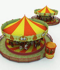 Carousel for Poser