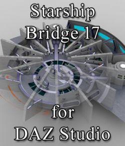 Starship Bridge 17 for DAZ Studio