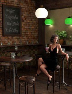 Cocktail Bar Vignette