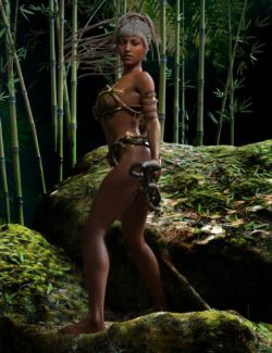 Jungle Amazon Poses for Genesis 8 Female