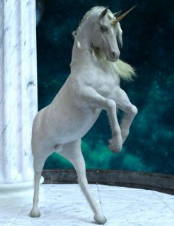 Unicorn Poses for Daz Horse 2