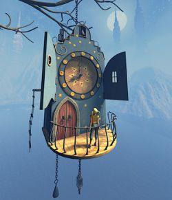 Watchmaker house for Daz studio