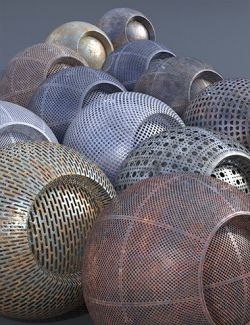 Perforated Metal - Iray Shaders