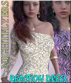 Nightlfyers - 14 Styles Reaction Dress