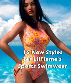 Swim Colors for LilFlame's Sports Swimwear