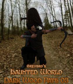 Greybro's Haunted World - Dark Woods Path 03 HDRI