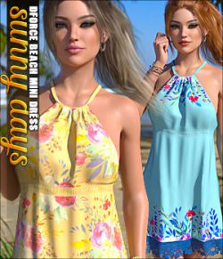 Sunny Days for dForce Beach Mini Dress G8F