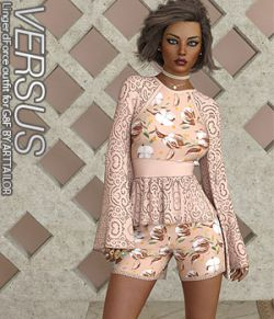 VERSUS - Linger dForce outfit for G8F