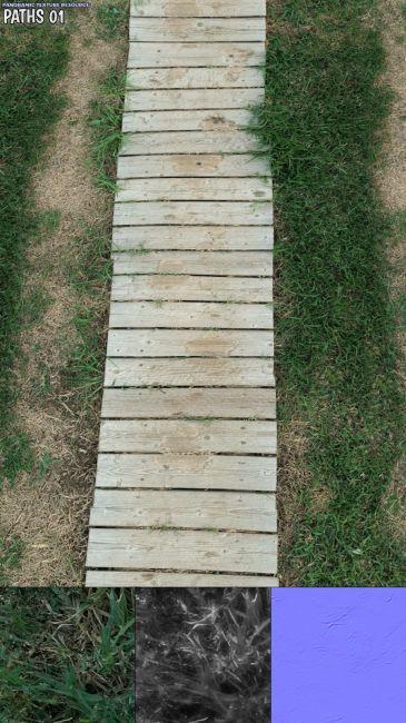 Panoramic Texture Resource: Paths 1