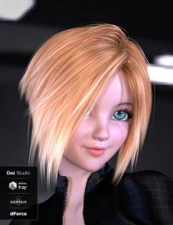 Kenji Hair for Genesis 8