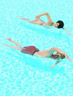 Free Style Swim Cycle for Genesis 8 Male(s) and Female(s)