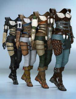 dForce Highlands Ranger Textures