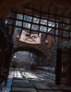 Castle Gravestone Halls