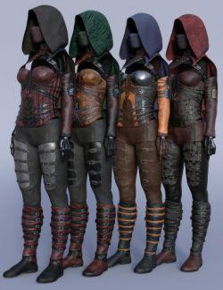 dForce Crimsoneye Outfit Textures