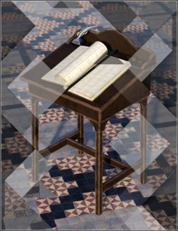 Medieval Church Floor Tile Iray Shaders Vol 2