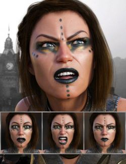 Discoverer- Expressions for Genesis 8 Female and Angharad 8