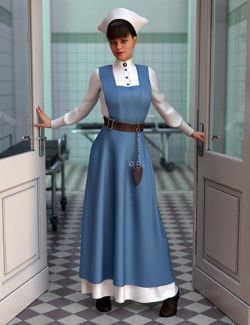 dForce Vintage Nurse for Genesis 8 Female(s)