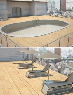 Utopia Balcony with Pool