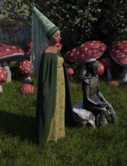 dForce Fairy Tale Dress for Genesis 8 Female(s)
