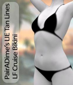 PAIRADIME'S LIE TAN LINES  Cruise Bikini