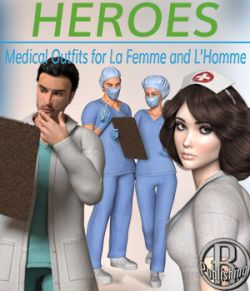 Heroes- Medical Outfits for La Femme and L'Homme