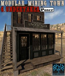 Modular Mining Town: 6. Undertaker for Daz