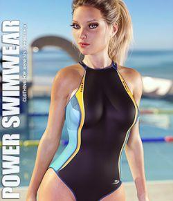 Power Swimwear for Genesis 8 Females