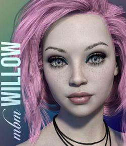 MbM Willow for Genesis 3 & 8 Female