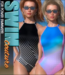 SWIM Couture for Power Swimwear G8F