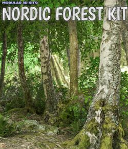 Modular 3D Kits: Nordic Forest Kit