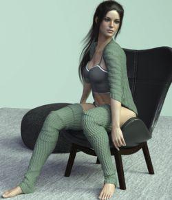 X-Fashion Nana Outfit for Genesis 8 Female(s)