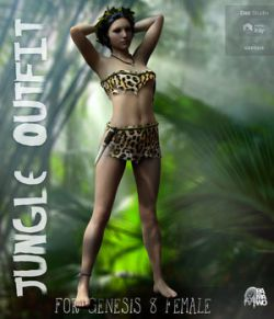 Jungle Outfit for G8F