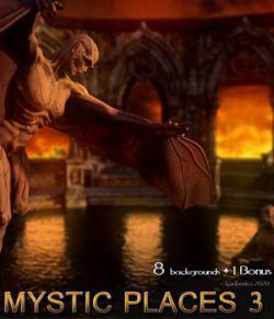 Mystic Places 3 - 2D backgrounds