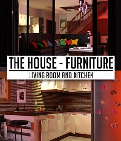 The House Furniture-Living Room and Kitchen