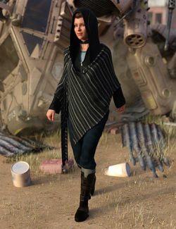 dForce Wander Outfit for Genesis 8 Female(s)
