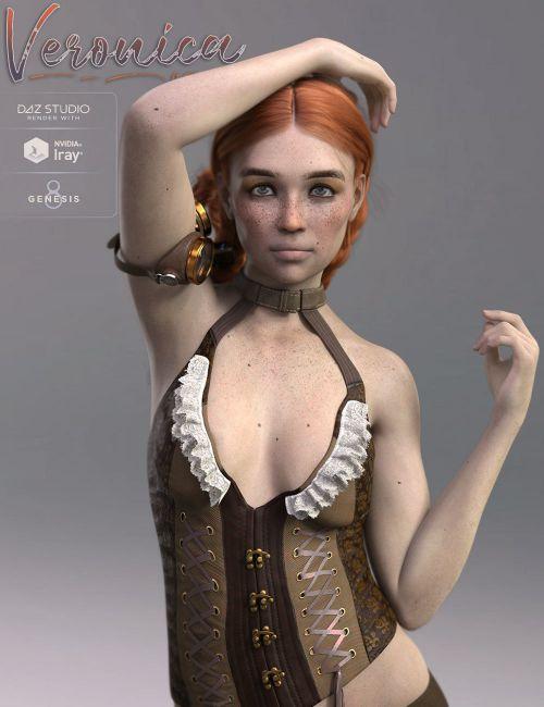 TDT-Veronica for Genesis 8 Female