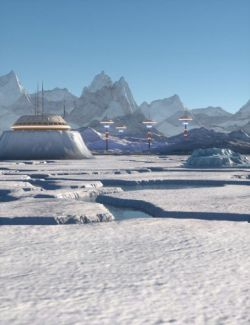 The Ice World Of Eros Prime Environment