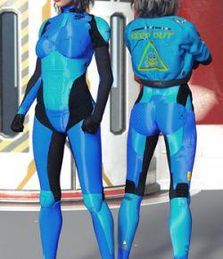 BW Scifi Suit Set 01