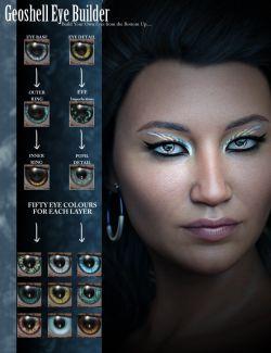 Geoshell Eye Builder for Genesis 8 Female