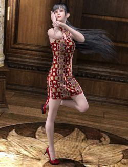 dForce East Wind Outfit for Genesis 8 Female(s)