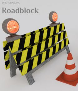 Photo Props: Roadblock