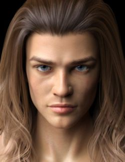 Vernon HD for Genesis 8 Male