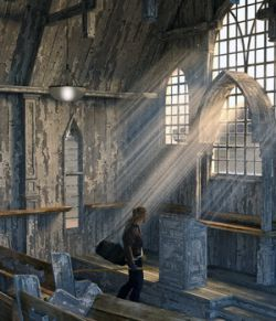 MS20 Abandoned Church for DAZ Studio