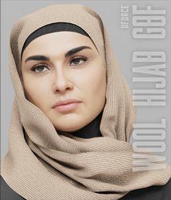 dForce Wool Hijab - G8F