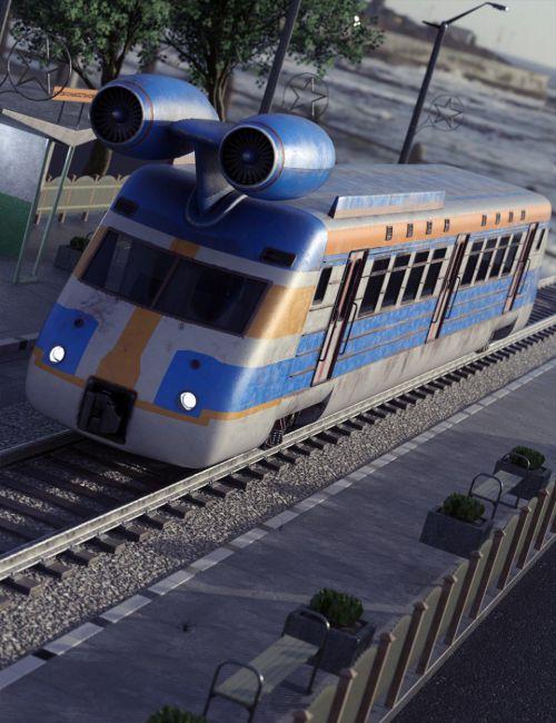 Jet Powered Train