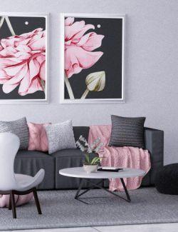 X-Fashion Chic Living Room